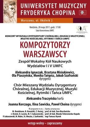 kompozytorzy warszawscy