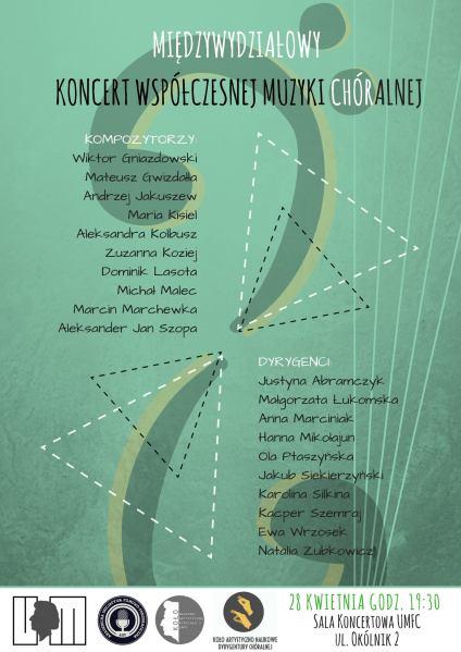 III Koncert chóralny umfc 2018