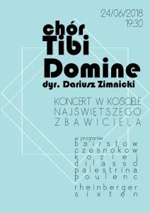 Tibi Domine koncert