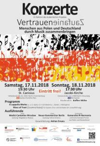 Berlin - Zaufanie - Vertrauen Mass of Trust