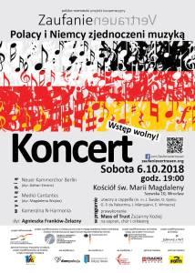 Wrocław - Zaufanie Vertrauen Mass of Trust